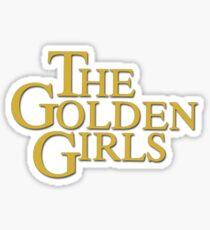 Golden Girls Logo Sticker