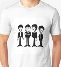 Beatles Cartoon T-Shirt