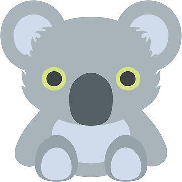 Cute Koala Bear by metalcharisma