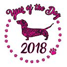 2018 year of the dog by tiffanyo