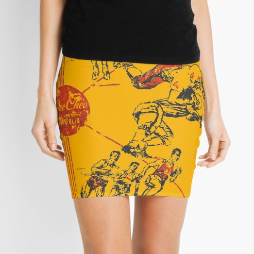 Vintage Pee Chee Mini Skirt