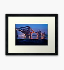 Reflections Before Sunrise: The Forth Railway Bridge  Framed Print