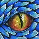 Blue Dragon Eye by Nina Bolen