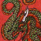 Asian Dragon by Nina Bolen