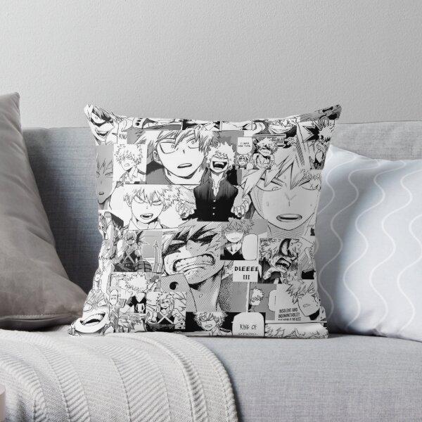 Bakugou Katsuki Collage Throw Pillow