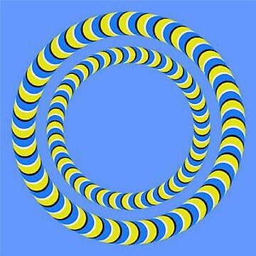 Rotating Rings  - #Optical #Illusion #Circles #Moving by znamenski