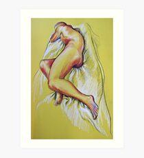 lifedrawing 12 Art Print