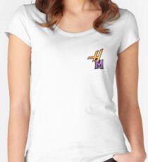 "Hannah Montana ""HM"" Logo  Women's Fitted Scoop T-Shirt"