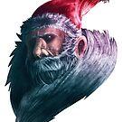 Somber Santa [Color] by Manbalcar
