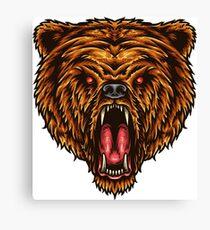 Bear spirit animal Canvas Print