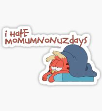i hate monday Sticker