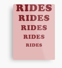 Adventureland - Rides Metal Print