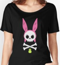 Skull Louise Women's Relaxed Fit T-Shirt