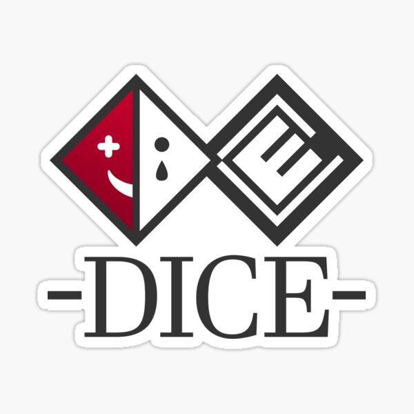 D.I.C.E. Logo Sticker