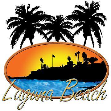 Laguna Beach California  by jGoDesigns