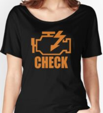 Check Engine New Product Women's Relaxed Fit T-Shirt