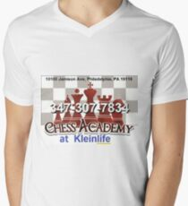 Chess Academy Men's V-Neck T-Shirt