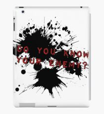 Do You Know Your Enemy GreenDay iPad Case/Skin