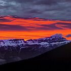 Rocky Mountain Sunrise by Peter Hammer