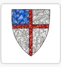 Episcopal Shield Triangle Sticker