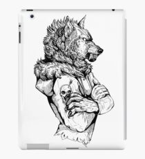 Wolf Rising Inks iPad Case/Skin