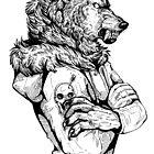 Wolf Rising Inks by WOLFSKULLJACK