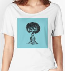 Cool Buddha - Moods of blue  Women's Relaxed Fit T-Shirt