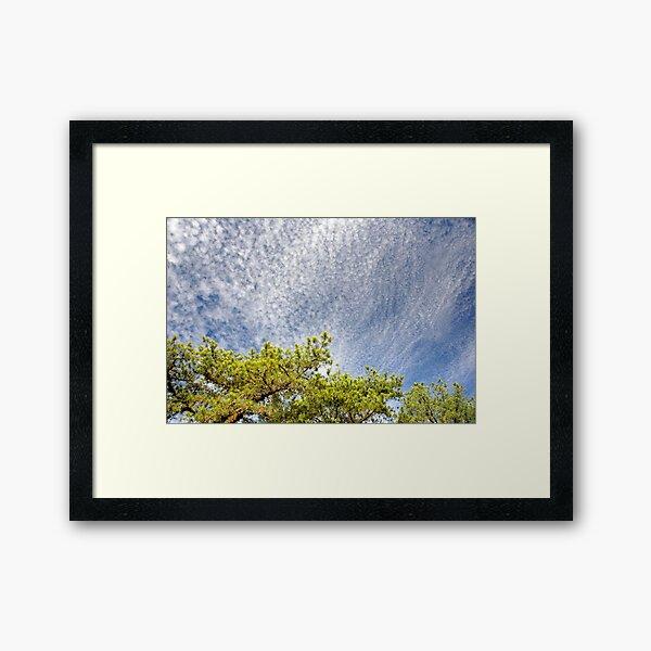 Pop Corn Sky Framed Art Print