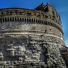 Abseiling from Castel Sant' Angelo by hans p olsen