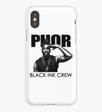 black ink crew iPhone Case/Skin