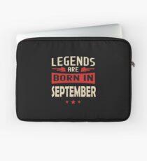 Legend Are Born In September Merchandise Laptop Sleeve
