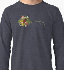Gun and Roses  Lightweight Sweatshirt