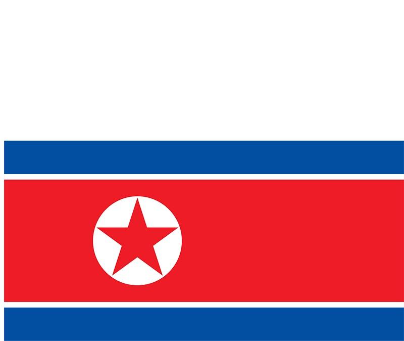 North korea flag by davdmark