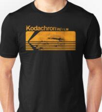 Kodachrome Vintage Film Stock Logo Unisex T-Shirt