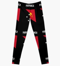 Papua-Neuguinea-Flagge Leggings