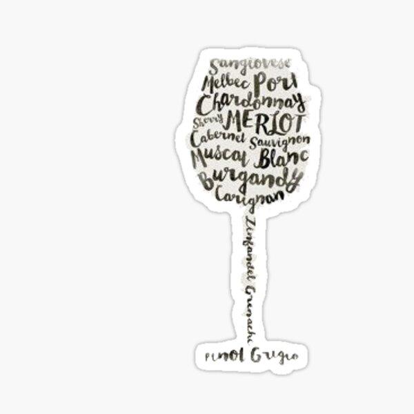 Wein Sticker