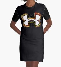 Kevin Plank Started Under Armour With Football Team Graphic T-Shirt Dress