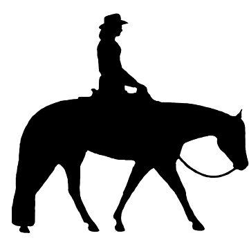 BIG - Western Pleasure Horse by Stuffnthingz