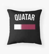 Katar Flagge Kissen