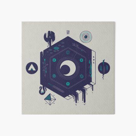 Crescent Art Board Print