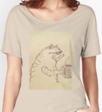 Cat + Coffee = CoffeeCat Women's Relaxed Fit T-Shirt
