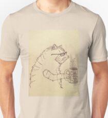 Cat + Coffee = CoffeeCat Unisex T-Shirt