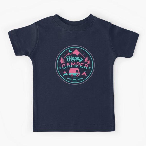 Happy Camper Soft-top T-shirt enfant