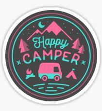 Happy Camper Soft-top Sticker