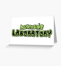 its dexters laboratory Greeting Card