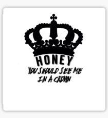 Moriarty quote design Sticker