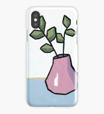 Abstract Still Life - Vase and Branches iPhone Case/Skin