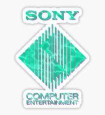 Wavey Computer Entertainment Sticker