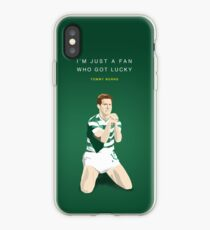 Tommy Burns - Mr Celtic iPhone Case