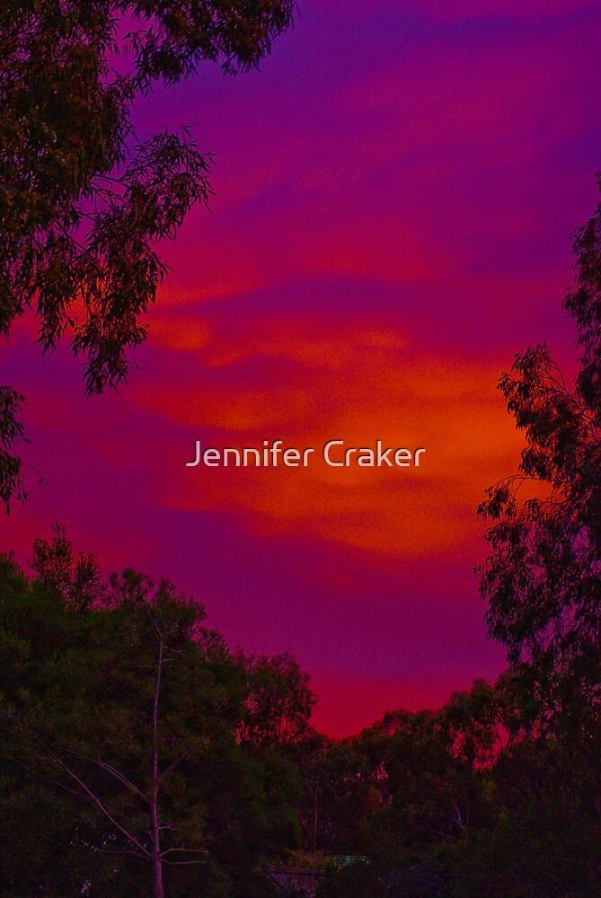 Brilliant Sunset by Jennifer Craker